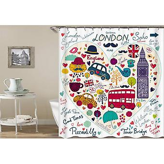 That's London Baby(!) Shower Curtain