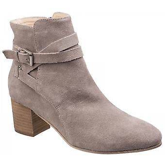 Divaz Arianna Ladies Suede Ankle Boots Taupe