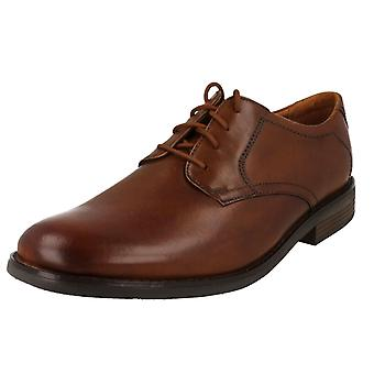 Mens Clarks Lace Up Casual Shoes Becken Lace