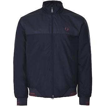 Fred Perry Pique Print Brentham Jacket J7529 608