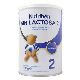 Nutribén 2 Lactose Free Canister 400 g