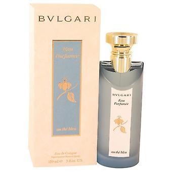 Bvlgari eau parfumee au the bleu eau de cologne spray (unisex) by bvlgari 528689 150 ml