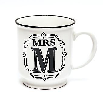 History & Heraldry Alphabet Mug- Mrs M