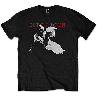 Elton John LEAP Goodbye gul Brick Road offisiell T-skjorte