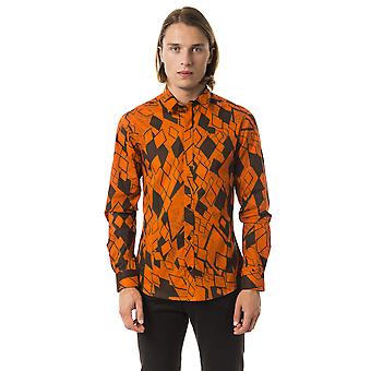 Orange Byblos Men's Long Sleeve Shirts