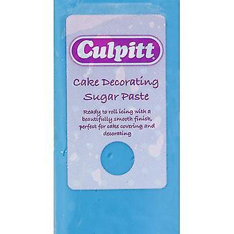 Bolo de Culpitt que decora a pasta de açúcar azul 8 x 250g