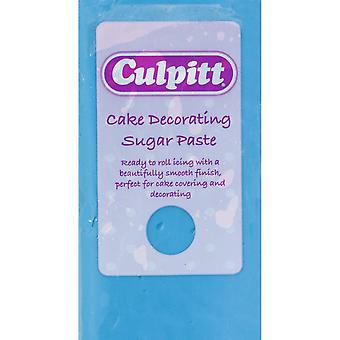 Culpitt Cake Dekorowanie cukru Pasta Niebieski 8 X 250g