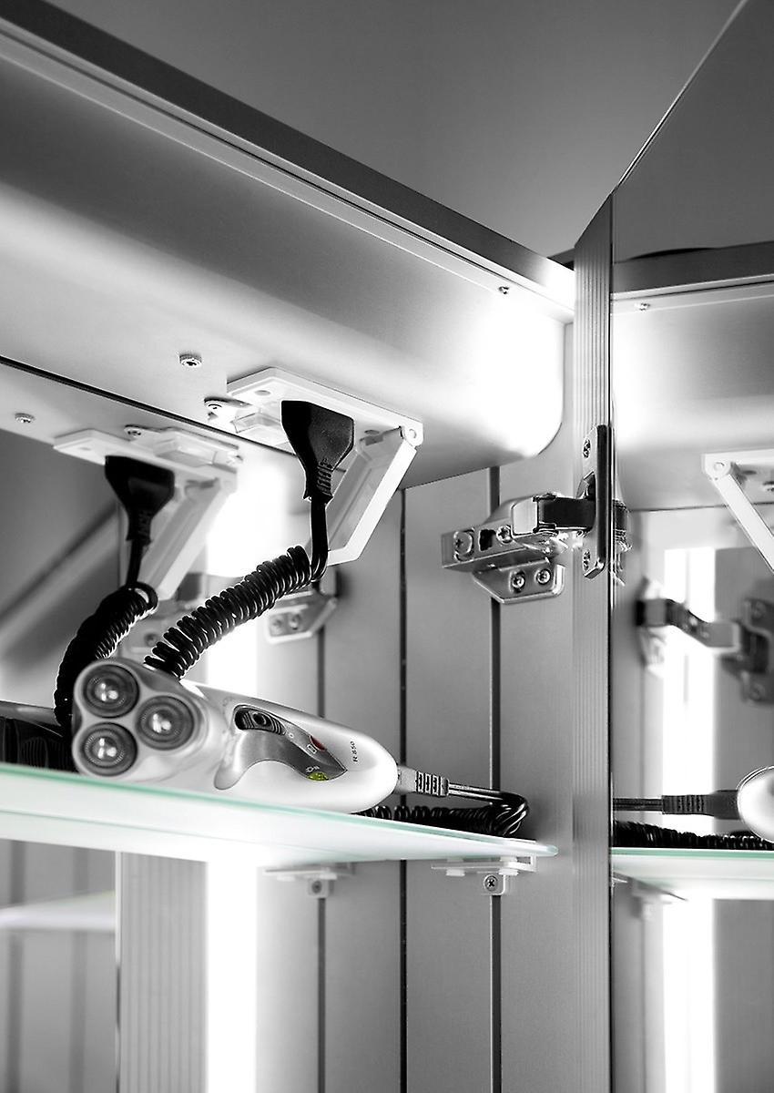 Fedor LED salle de bains Cabinet avec Dévésiculeur Pad, capteur et Shaver k369