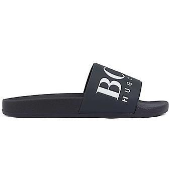 Hugo Boss Footwear Hugo Boss Dark Blue Sliders
