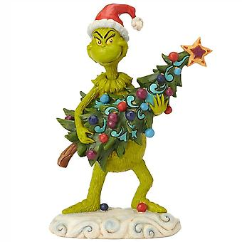 Jim Shore The Grinch Grinch Stealing Tree Figurine