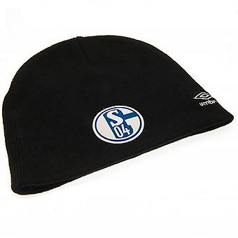 FC Schalke Adults Unisex Umbro Knitted Hat