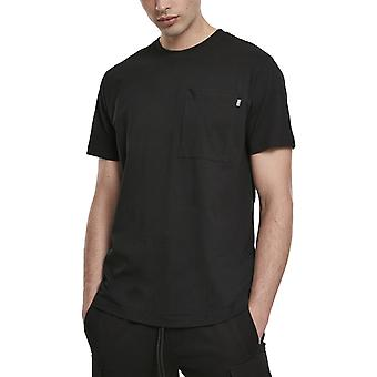 Urban Classics - Basic Pocket Shirt schwarz