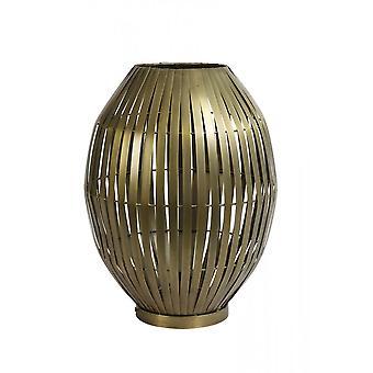 Lâmpada leve e viva 42x55cm Kyomi Bronze Antigo