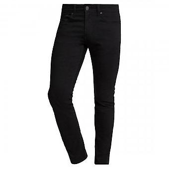 Levi's 512 Slim Taper Fit Caviar Sorbtek Black Cotton Stretch Jeans 28833 0437
