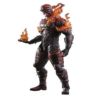 Metal Gear Solid V Man on Fire Play Arts Action Figure
