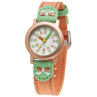 JACQUES FAREL Eco Kids Polshorloge Analog Quartz Girl ORG 343 Bogen