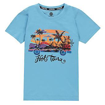 Hot Tuna Boys T Shirt Junior Crew Neck T-Shirt T-Shirt Top Junior Korte Mouw Shirt