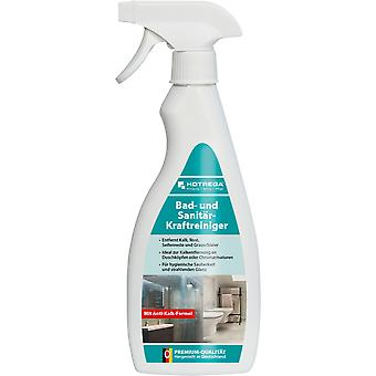 HOTREGA® bath and sanitary power cleaner, 500 ml flat bottle