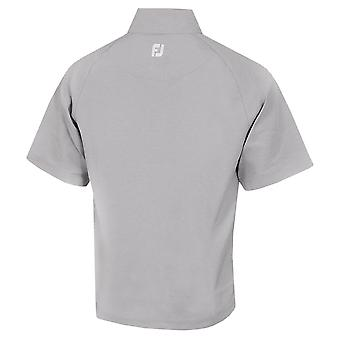 Footjoy Mens Performance Half-Zip S/S Water Repellent Golf Windshirt