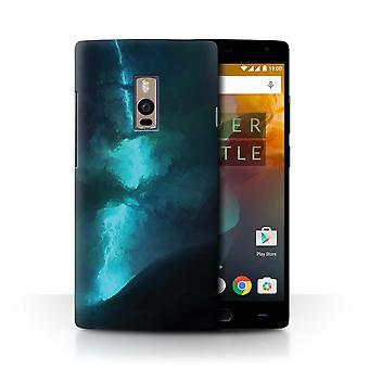 STUFF4 Case/Cover for OnePlus 2/Two/Electric Storm/Alien World Cosmos