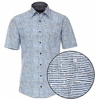 CASA MODA Casa Moda Fashion Print Short Sleeve Shirt