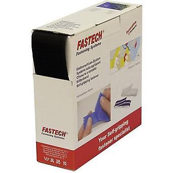 FASTECH® B50-STD-H-999910 Hook-and-loop tape sew-on Loop pad (L x W) 10 m x 50 mm Black 10 m