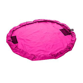 Large 150cm Water Resistant 2 in 1 Play Mat Toy Storage Bag - Pink