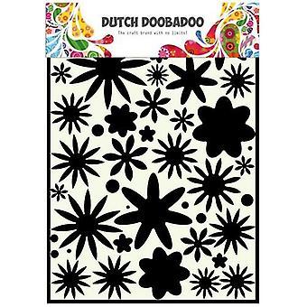 الهولندي دوبادو قناع الاستنسل-A4 زهرة السلطة #715800