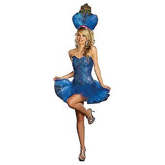 Vrouwen Sexy Peacock Kostuum