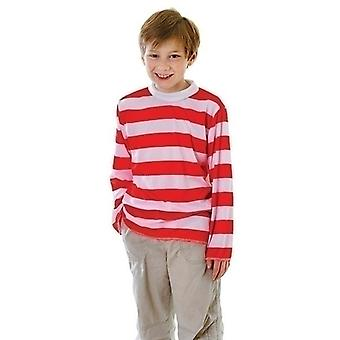 Red/White Striped Top (XL)