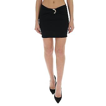 Versace A86358a233855a1008 Women's Black Nylon Skirt