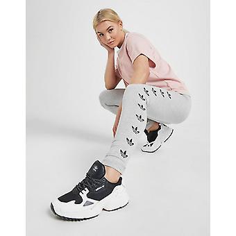 New adidas Originals Women's Repeat Trefoil Leggings Grey