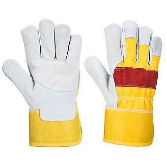 Portwest - Klassisk Chrome Rigger Handske (1 Pair Pack)