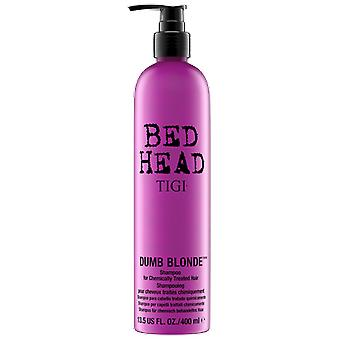 Bed Head Dumb Blonde Shampoo for Blond Hair Damaged 400 ml