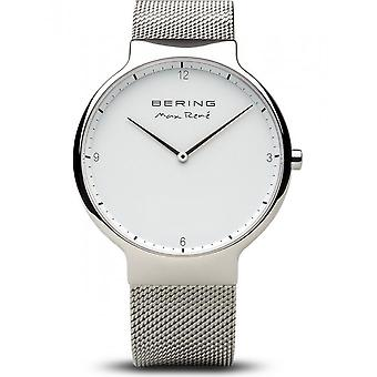Bering-armbåndsur-menn-Max René-sølv glanset-15540-004