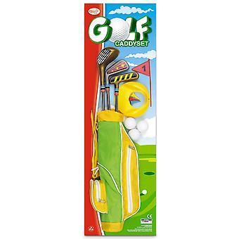 Toyrific brinquedos 12 peça Golf Caddy definido