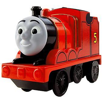 Fisher Price Thomas & Friends Motorised Railway Engine - James