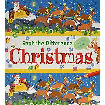 Spot the Difference Christmas by Genie Espinosa - 9781789502558 Book