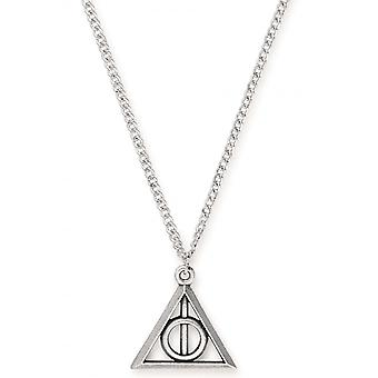 Alex and Ani Deathly Hallows Expandable Necklace - Rafaelian Silver - AS17HP23RS