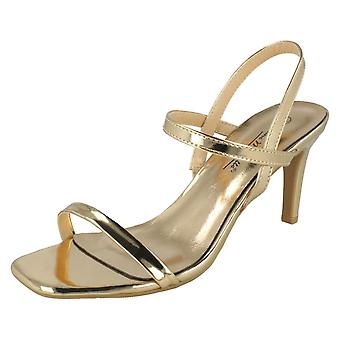 Ladies Anne Michelle Slingback Heeled Sandals F10983
