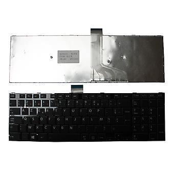 Toshiba Satellite C70D-B-316 Black Frame Black Windows 8 franceză Layout înlocuire laptop tastatură