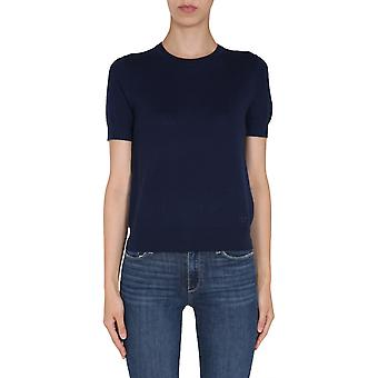 Tory Burch 63184405 Women''s Blue Cashmere T-shirt
