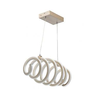 Techno 120 Cm Gold Pendant Lamp