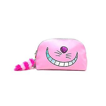 DISNEY Disney Alice In Wonderland Cheshire Cat Wash Bag Pochette for makeup 30 centimeters Pink (Pink)
