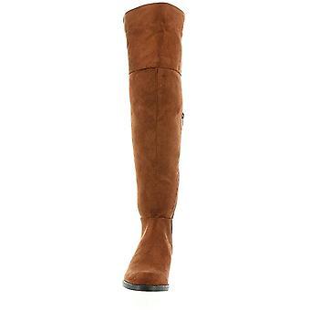 Beacon Womens Helena Almond Toe Over Knee Fashion Boots
