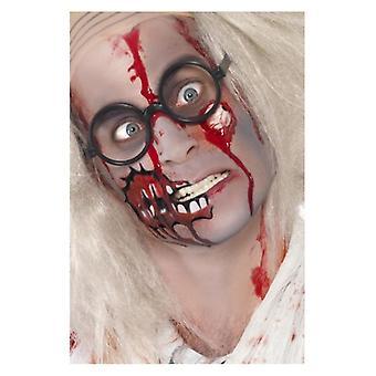 Erwachsene Zombie Make-up Kit Halloween Gesicht Farben