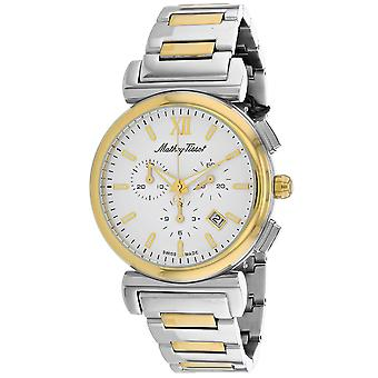 Mathey Tissot Men's Elegance White Dial Watch - H410CHBI