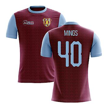 2020-2021 Villa Home Concept Football Shirt (Mings 40)
