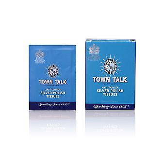 Town Talk Anti Tarnish Silver Tissus polonais