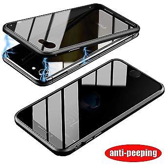 Mobiltui i dobbeltsidet hærdet glas til iPhone 6 - sort